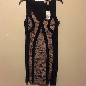 Black/Mauve Dress Short